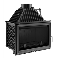 Камінна топка KRATKI OLIWIA 18кВт / можливість підведення повітря з вулиці (опція)
