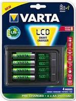 Зарядное устройство для аккумуляторов varta lcd smart charger (57674101441)