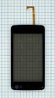 Тачскрин сенсорное стекло для Nokia N900 with frame black