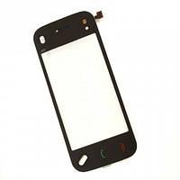 Тачскрин сенсорное стекло для Nokia N97 black