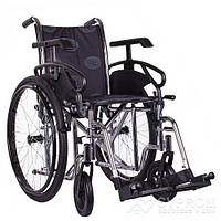 Коляска инвалидная OSD Millenium III, ширина 40 см, хром + насос OSD-STC3