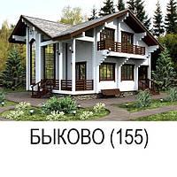 """Деревянный дом """"БЫКОВО"""""""