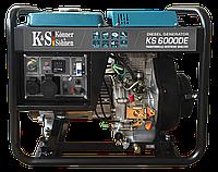 Дизельный генератор Könner & Söhnen KS 6000DE (5 кВт; электростартер)