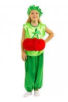 Костюм детский маскарадный вишня