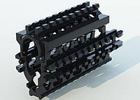 Крук RIS цевье для АКС-74У черное