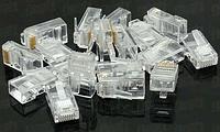 RJ-45 кабельный коннектор x10шт
