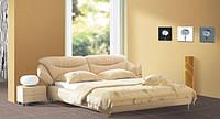 Кровать 1039 (1,6м)  перламутр
