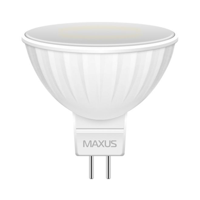 Светодиодная Лампа MR16 4W GU5.3 MAXUS 350lm,4000k