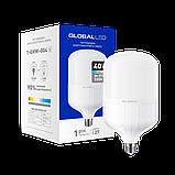 Светодиодная Лампа HW GLOBAL 40W Е27 3200lm, 6500k, фото 2