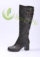 Шкіряні жіночі зимові чоботи Foletti 40 розмір