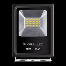 Світлодіодний Прожектор GLOBAL 20W 5000k