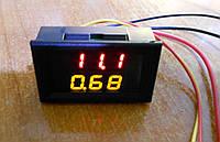 Цифровой DC ампер вольтметр 200В 10А доп. пит. 3разр