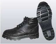 Ботинки рабочие юфть/кирза кпп утепленные