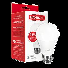 Светодиодная Лампа A60 10W E27 MAXUS 950lm,3000k