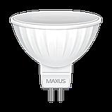 Светодиодная Лампа MR16 3W GU5.3 MAXUS 500lm,4000k, фото 2