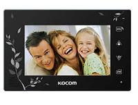 "Kocom KCV-A374SDLE - 7"" видеодомофон с фото\видео записью"