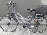 Дамский велосипед Kalkhoff женский с корзиной