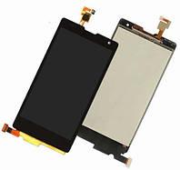 Дисплей (экран) для Huawei Honor 3C Lite + с сенсором (тачскрином) Black