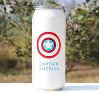 Термочашка Капитан Америка 450 мл