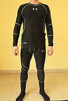 Мужское термобельё Under Armour X-Fit 8388 черное код 456Б