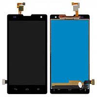 Дисплей (экран) для Huawei Honor 3C H30-U10 + с сенсором (тачскрином) Black