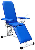 Кресло донорское для забора крови сорбционное с пневмоприводом ВР-2 медицинское