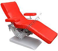 Кресло донорское для забора крови сорбционное ВР-1Э медицинское с электроприводом