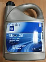 """Масло моторное синтетическое """"GM"""" General Motors Dexos 2 Longlife 5W-30 5л - производства Германии"""