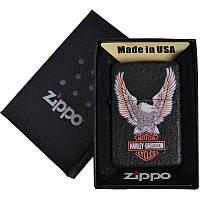 Зажигалка бензиновая Zippo HARLEY-DAVIDSON в подарочной упаковке 4736-3 SO
