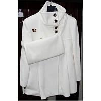 Меховое пальто для девочки (2637)