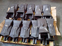 Литье зубьев ковшей и бетонокрошителей