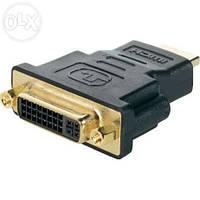 Адаптер переходник DVI-I  female HDMI male