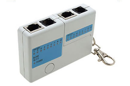 Тестер кабельный сетевой RJ45 RJ11 #100023