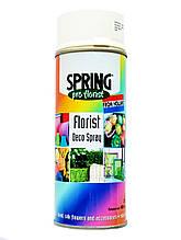 Краска для живых цветов SPRING 020 (400 мл) белая