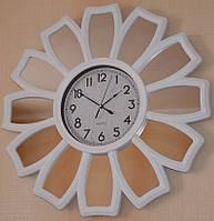Настенные часы с зеркалом (65х65х5 см.)