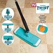 Універсальна поворотна швабра для підлоги - Titan Twist Mop.