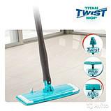 Універсальна поворотна швабра для підлоги - Titan Twist Mop., фото 3