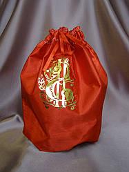 Свадебный мешочек для денег красный