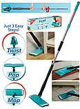Універсальна поворотна швабра для підлоги - Titan Twist Mop., фото 4