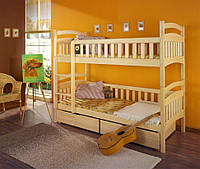 """Кровать двухьярусная """"Кетрин"""" из дерева"""