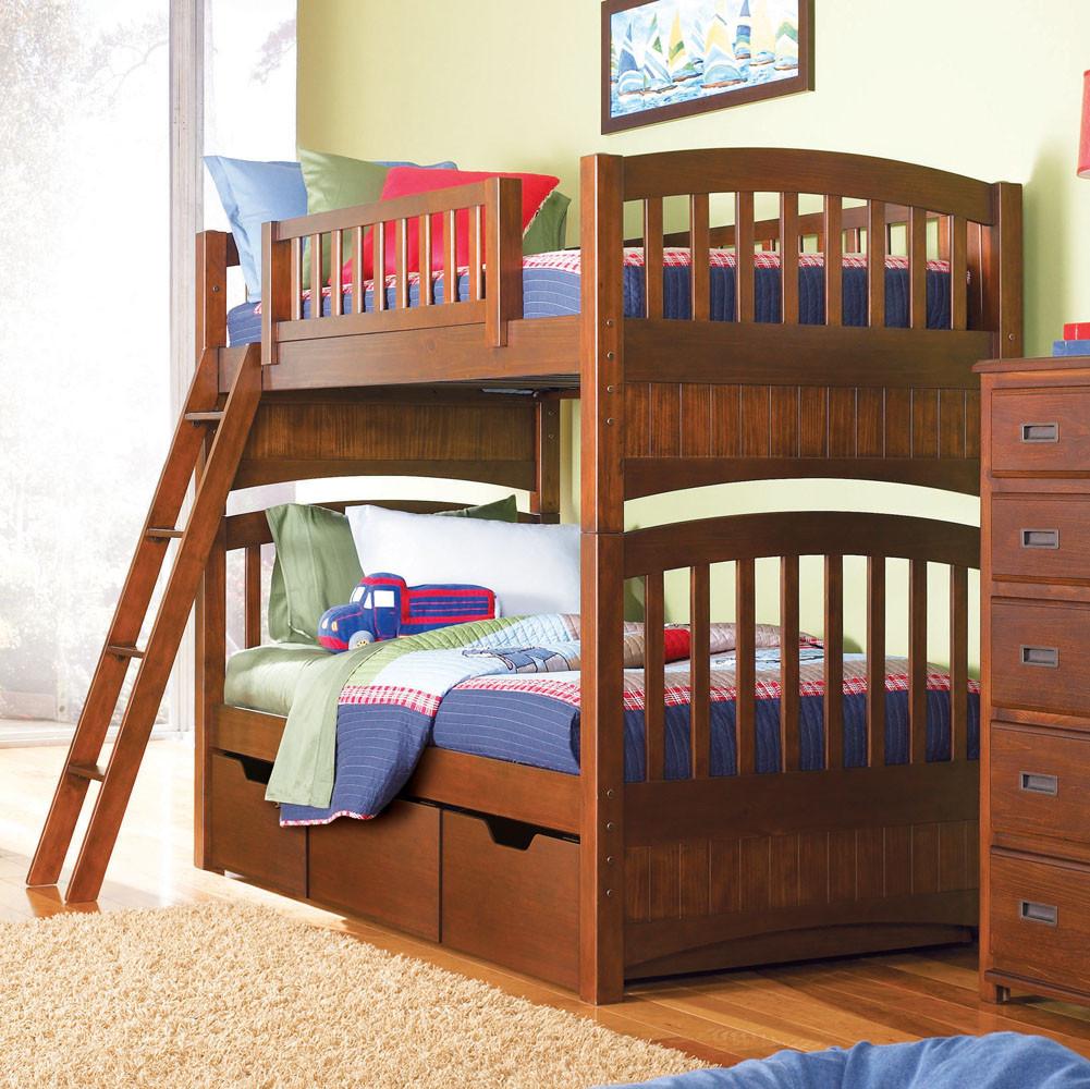 """Двоярусне ліжко """"Меліса"""" з дерева"""