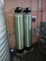 Механический и угольный фильтр. Предварительная очистка перед коммерческой системой обратного осмоса