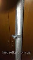 Столбики ограждения оцинкованные  Н=2300мм, фото 1