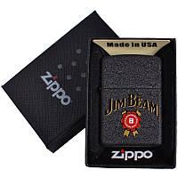 Зажигалка бензиновая Zippo Jim Beam в подарочной упаковке 4735-1 SO