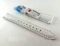 Ремешок Hightone, кожаный, анти-аллергенный, белый, фото 1