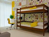 """Двухъярусная кровать """" Натали """" из натурального дерева"""