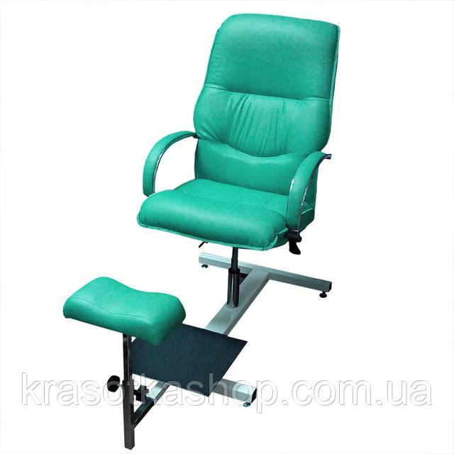 """Кресло для педикюра """"Версаль"""" на стеллаже"""