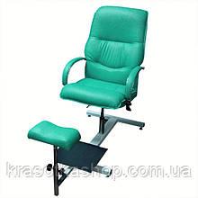 """Крісло для педикюру """"Версаль"""" на стелажі"""