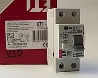 Дифференциальное реле EFI - 2 2P 40 A ETIMAT