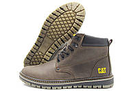 Ботинки Cаterpillar F32-1 мужские зимние коричневые (катерпиллер)